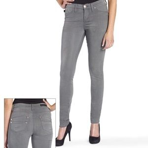 Rock & Republic Gray Skinny Mid-rise Denim Jeans